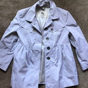 Burberry button up overcoat